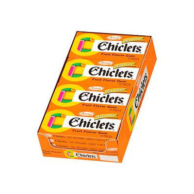Chiclets The Original Candy Coated Gum (20 packs)