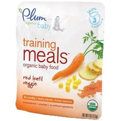 Plum Organics Plum Organic Baby Training Meals Organic Baby Food: Stage 3, Red Lentil Veggie 4 oz Pouch