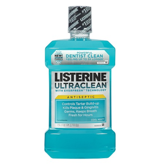 LISTERINE Ultra Clean Antiseptic Mouthwash Arctic Mint