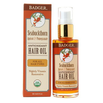 Badger Hair Oil Seabuckthorn