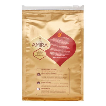 Amira RICE, BASMATI, BROWN, (Pack of 12)