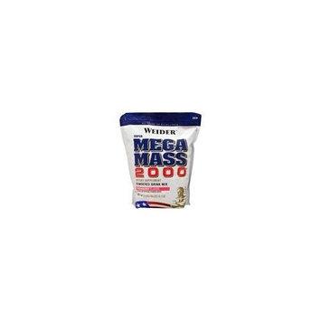 Weider Mega Mass 2000 12.1-Pound Bags, Creamy Vanilla