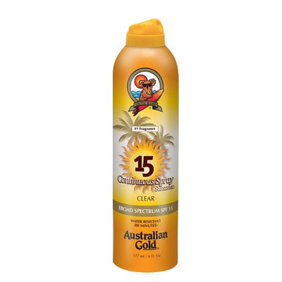 Australian Gold Continuous Clear Spray SPF 15
