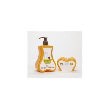 Organic Oscar SH 172 D025/2in1 8OZ 2 in 1 Dog Shampoo & Conditioner- Case of 12