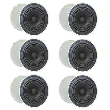 Goldwood Sound GH-65 200 W RMS Speaker - Black - 45 Hz to 20 kHz - 8 Ohm - In-ceiling