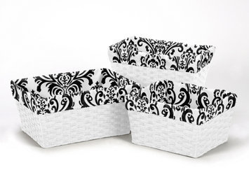 Sweet Jojo Designs 3 Piece Isabella Basket Liner Set
