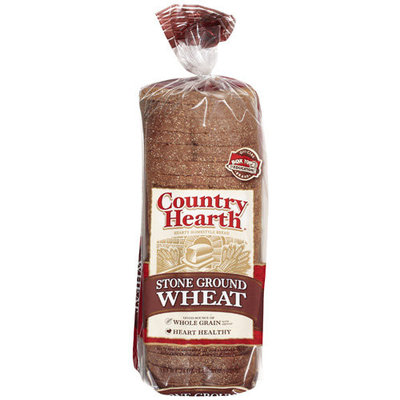 Country Health Stone Ground Wheat Bread, 24 oz