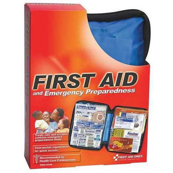 First Aid Only Emergncy PrepardnssKit (Fabric, 105 Pieces). Model: FAO-562GR