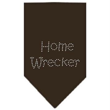 Ahi Home Wrecker Rhinestone Bandana Cocoa Small