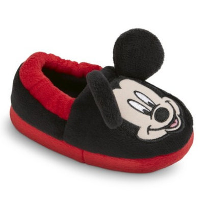 Toddler Boy's Disney Mickey Mouse Bootie - Black/Red M
