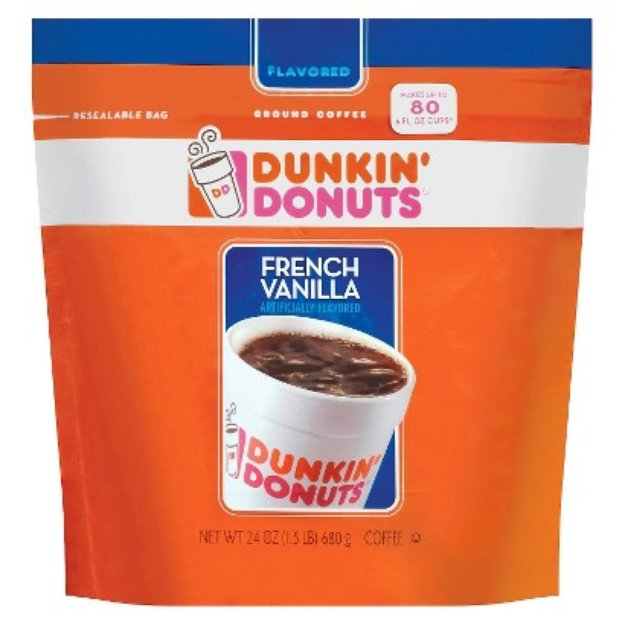 Smucker's Dunkin' Donuts French Vanilla Ground Coffee 24 oz