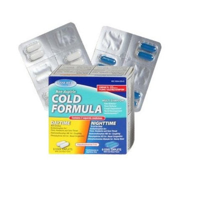 Assured Multi-Symptom Day & Night Cold Formula, 12-ct.