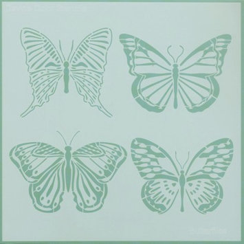 Devine Color 12x12in. Reusable Wall Stencil - Butterfly