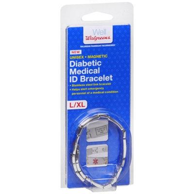 Walgreens Diabetic Medical ID Bracelet, L/XL, 1 ea