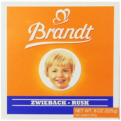 Brandt Zwieback, 8-Ounce Boxes (Pack of 10)