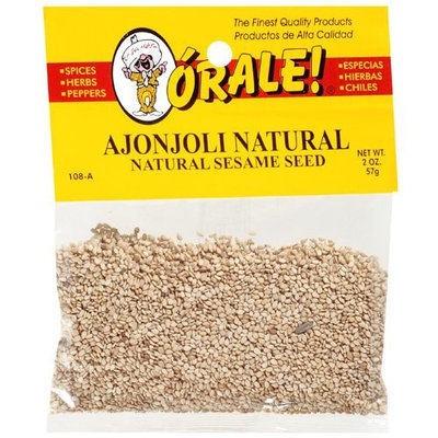 Orale Natural Sesame Seed, 2 oz