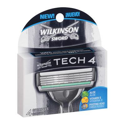 Wilkinson Sword Tech 4 Razor Cartridge Refills