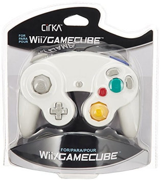 CirKa Wired Controller For Wii/ GameCube - White