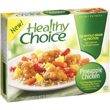 Healthy Choice Pineapple Chicken Select Entrees, 9 oz