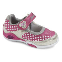 Disney Toddler Girl's Minnie Mouse Mary Jane Sneakers - Pink 7