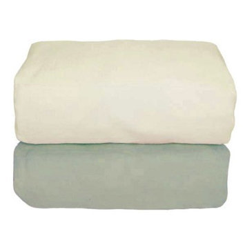 Tadpoles Organic Flannel Fitted Crib Sheets