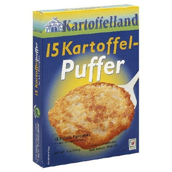 Kartoffelland 15 Kartoffel-Puffer (Potato Pancakes), 5 -Ounce Boxes (Pack of 14)