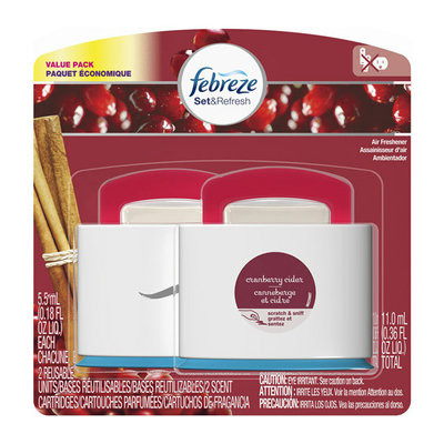 Febreze Set & Refresh Cranberry Cider Air Fresheners