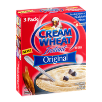 Cream of Wheat Instant Hot Cereal Original - 3 PK