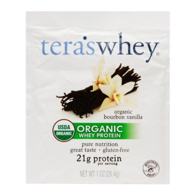 tera's whey Organic Whey Protein Bourbon Vanilla