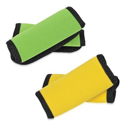 Travelon Set of 4 Handle Wraps -( 2 Neon Green and 2 Neon Yellow Set of Handle Wraps