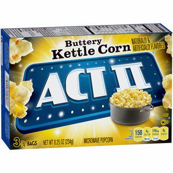 Act II® Buttery Kettle Corn Popcorn