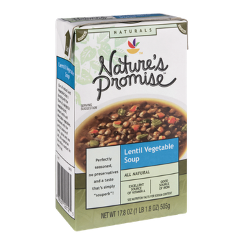 Nature's Promise Naturals Lentil Vegetable Soup