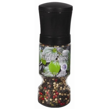 Dean Jacob's Dean Jacobs Multi-Color Peppercorns Gripper Grinder Mill, 3.8-Ounce (Pack of 6)