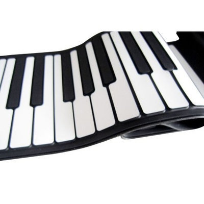 FlashingBoards 3D Music MIDI Roll-Up Portable Piano with Thick Keypad / Employee Gifts