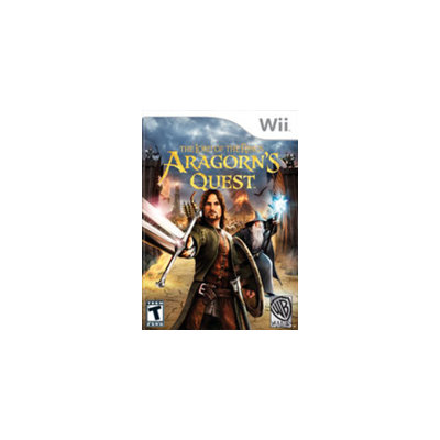 Warner Home Video Games Lord of the Rings: Aragorn's Quest