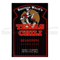 Jardine Foods, Inc. Shotgun Willie Texas Chili Seasoning -- 3.1 oz