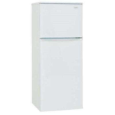 DANBY DFF100C1WDB Refrigerator and Freezer,7.09cu ft, White