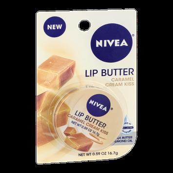 NIVEA Caramel Cream Kiss Lip Butter Shea Butter & Almond Oil
