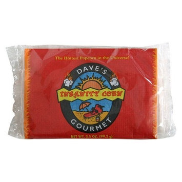 Daves Gourmet Dave's Gourmet Insanity Popcorn, 3.5-Ounces (Pack of 12)