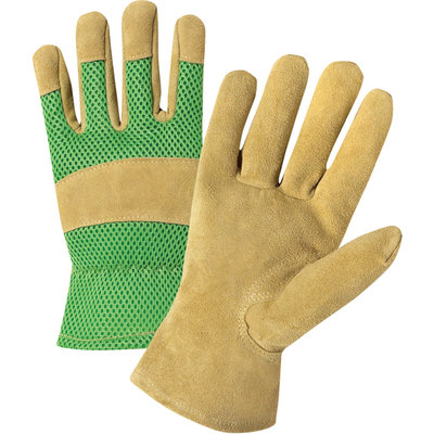 Westchester Ladies Split Cowhide palm Mesh Back Glove