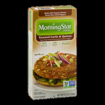 MorningStar Farms Roasted Garlic & Quinoa - 4 CT