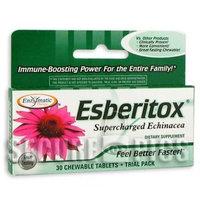 Esberitox Trial Enzymatic Therapy Inc. 30 Chewable