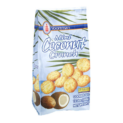 Voortman Mini Coconut Crunch Cookies