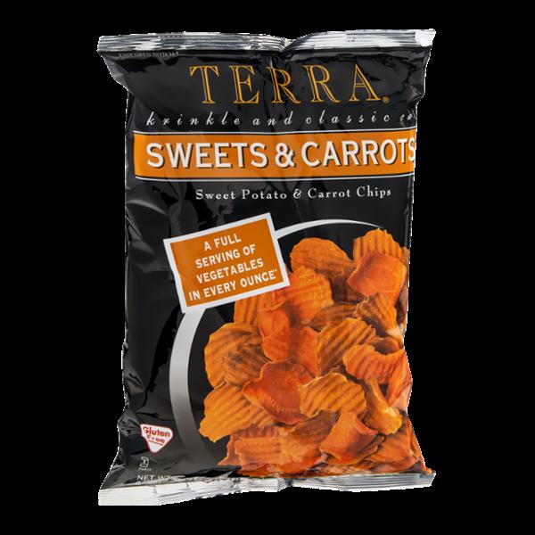 Terra Sweet Potato & Carrot Chips Sweets & Carrots