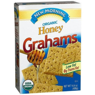 New Morning Morning Honey Grahams, 14.4-Ounce Box