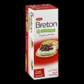 Breton Crackers Original With Flax