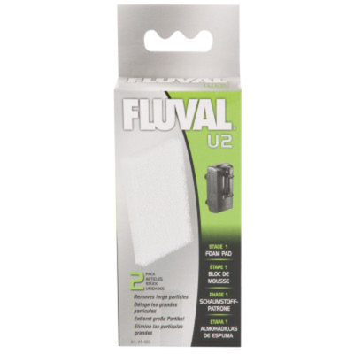 FluvalAU2 Underwater Filter Replacement Foam Pads