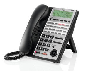 Necdisplay SL1100 24 Button Full-Duplex IP Tel (BK)