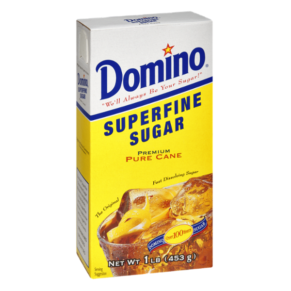 Domino Pure Cane Superfine Sugar
