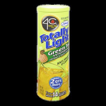 4C Totally Light Sugar Free Green Tea Antioxidant with Honey & Natural Lemon Flavor Drink Mix - 7 CT